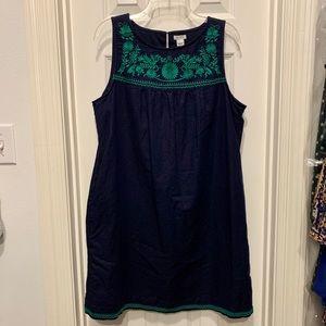 Smocked J. Crew Dress